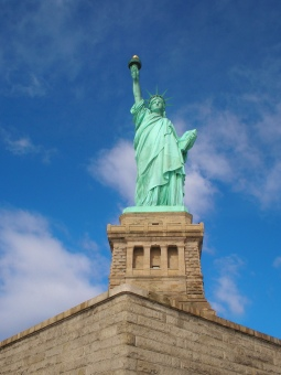 The Statue of Liberty, NY.