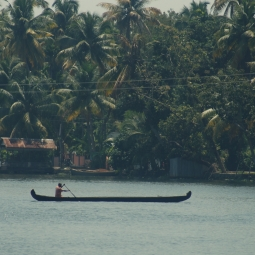 Alleppey Backwaters, Cochin, India